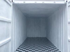 20 feet Container Innenansicht