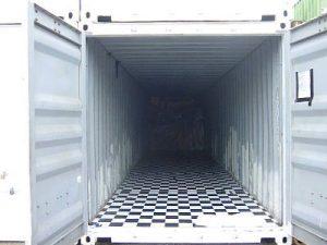 40 feet Container Innenansicht