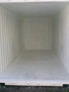 Mietcontainer Innenansicht
