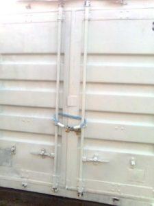 Lagercontainer Selfstorage Außenansicht
